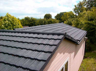 Plastic roofing tiles light weight